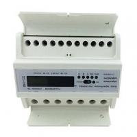 Wholesale DTS155 Three-Phase Four Wires DIN Rail Electric Meter with Carrier Communication Module from china suppliers