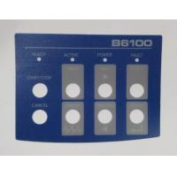 Wholesale Custom Flat Membrane Switch Overlay , Instrument Panel Sticker from china suppliers