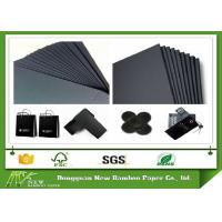 Wholesale One Side Coated Black Paperboard / Black Cardboard Sheets from 110gsm to 650gsm from china suppliers