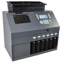 China KOBOTECH LINCE-60C 6 Channels Value Coin Sorter Counter counting sorting machine(ECB 100%) for sale