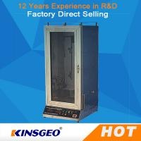 Wholesale Automatic Electric Fabric Testing Equipment Veritical With Power Ac220V,50Hz from china suppliers