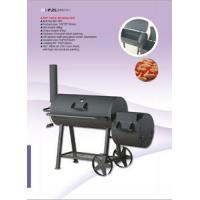China Professional Stationary Big Size Charcoal BBQ Grill on sale