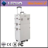 Wholesale Classic Silver Beauty Trolley professional makeup trolley case from china suppliers