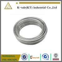 Wholesale high carbon spring steel wire/galvanized steel wire/stainless steel hyfrogen annealed spring tiny wire types wire from china suppliers