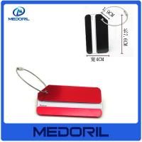 Wholesale New product  high quality Aluminium Travel Luggage Tag With Printing Logo from china suppliers