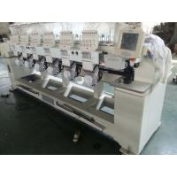 Wholesale 6 Heads Tubular Embroidery Machine For Backpacks / Sweat Suits from china suppliers