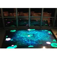 Wholesale Outdoor / Indoor Interactive LED Dance Floor P6.25 LED Sign With Full Color LED Screen from china suppliers