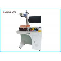 Buy cheap PVC Pipe Glass Acrylic 50w Desktop CO2 Laser Marking Machine With Rotary Devices from wholesalers