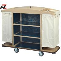 Wholesale Hotel Metal Housemaid Trolley with Cover-Housemaid Trolley from china suppliers