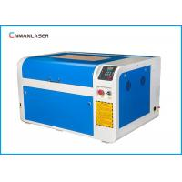 Wholesale Honeycomb 600*400mm 80w CO2 Laser Engraving Cutting Machine For Fabric Leather from china suppliers