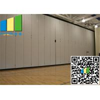 Wholesale Wall Paper Material Soundprood Partition Barrier Hotel Moving Door from china suppliers