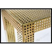 Wholesale Aluminum perforated metal for building facade oxiation finished from china suppliers