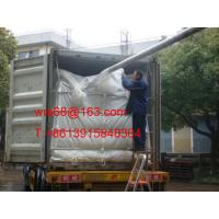 Wholesale ISO9001 / ISO14000 20ft PP woven dry bulk container liner for PET resin from china suppliers