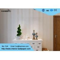 Wholesale Household Office Hotel Modern Removable Wallpaper With Simple Stripes Pattern from china suppliers