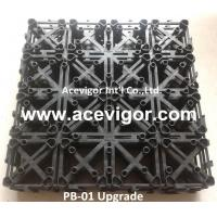 Wholesale PB-01 Upgrade Interlocking Plastic Grid for DIY deck tiles from china suppliers