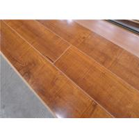 Wholesale High Gloss Waterproof Laminate Flooring , Valinge Click Shiny Mahogany Wood Flooring from china suppliers