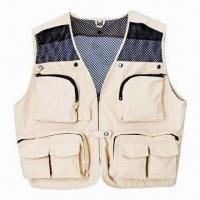 Wholesale Fishing Life Vest with waterproof Cloth, with Waterproof, Windbreak from china suppliers