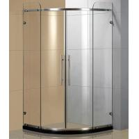Wholesale Sector frameless showers enclosures, frameless sliding shower door, glass shower cubicles from china suppliers