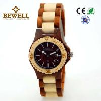 Wholesale Fashionable Men size recycled wood watches OEM Customized Brand from china suppliers