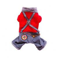 Quality 2013 new design dog clothes,summer dog t-shirt for sale