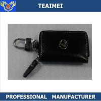 Wholesale Ash Black Lexus Business Key Holder Pouch With Zipper 100*60*25mm from china suppliers