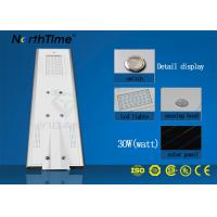 Wholesale 120° Beam Angle All In One Solar LED Street Light 65W 4 Rainy Days Discharge Time from china suppliers