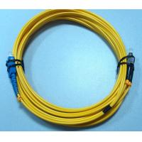 Wholesale Custom 1M , 3M , 5M Fiber Optic Patch Cord FC SC Single Mode Duplex from china suppliers
