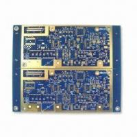 Buy cheap Multilayer PCB with ENIG Surface Finish and 1.6mm Board Thickness from wholesalers