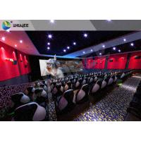 Wholesale Electric 4D Cinema System Customized Seat / Professional 3D Glasses 4d Cinema from china suppliers