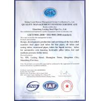 TOBO STEEL GROUP CHINA Certifications