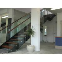 Wholesale outdoor stair steps lowes / metal outdoor stair case / double stringer staircase from china suppliers