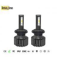 Waterproof H7 Led Replacement Headlight Bulbs 36w IP67 6000K L1S Constant Current