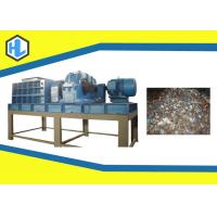 Wholesale 55kw Motor Power Solid Waste Shredder Machine With 50mm Blade Thickness from china suppliers
