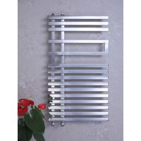 Wholesale Hot Water Brushed / Polished Heated Towel Wamer Stainless Steel 304 Flat Tube from china suppliers