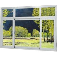 Wholesale High quality Brown / Silver Thermal Break Aluminum Frame Windows With Temper Glass from china suppliers