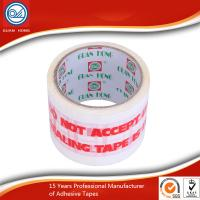 Wholesale Long Lasting Printed Packaging Tape , 50mic BOPP Adhesive Tape from china suppliers