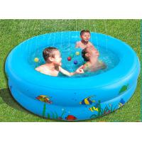 Wholesale Fountain large inflatable swimming pools , PVC inflatable wading pool from china suppliers