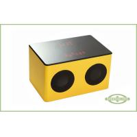 Wholesale Portable Wood Speaker , Bluetooth Digital Radio With LED Display from china suppliers