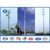 Hot Dip Galvanized Electrical Power Pole for Transmission & Distribution