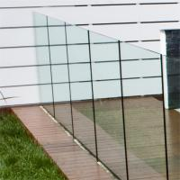 Wholesale Frameless Deck Railing Glass Systems 10mm Transparent Tempered from china suppliers