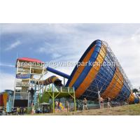 Wholesale Amusement Park Equipment Custom Water Slides Indoor Swimming Pool Water Slide from china suppliers