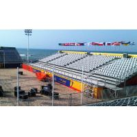 Buy cheap Plastic And Steel Temporary Grandstand Seating Personalized Stadium Seats from wholesalers