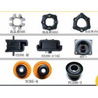 Black Pu / Rubber / Plastic Diesel E120b Caterpillar Engine Mounts Caterpillar Spare Parts
