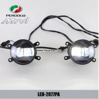 Wholesale Perodua myvi car front fog lamp assembly LED DRL running lights suppliers from china suppliers