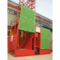 Wholesale OEM Adjustable Safe Construction Building Material Hoist, Construction Site Elevator 1-2T from china suppliers