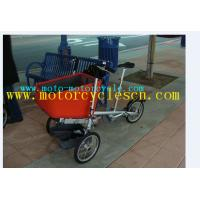 Wholesale Steel Chain / Handlebar Child And Mother Stroller Bike For Shopping / Trading from china suppliers