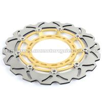 Wholesale 320mm Durable Wave Floating Motorcycle Brake Discs for Yamaha XT600X from china suppliers