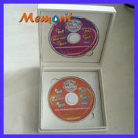 Wholesale Customized / OEM 180MB 8cm CD / VCD/CD-ROM Duplication Services With Silkscreen Printing from china suppliers