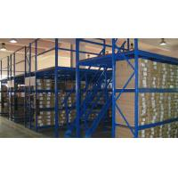 Wholesale Multi Tier Mezzanine Rack System, Steel Mezzanine Floor with Stair and Goods Elevator from china suppliers