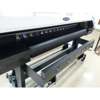 Quality 1.6m eco solvent printer with single DX7 head for various indoor and outdoor material for sale